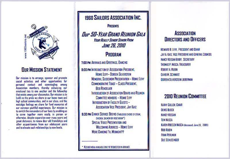 class reunion program template - blog archives expertsblogs