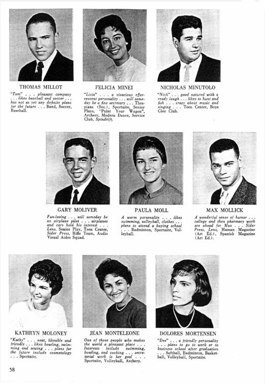 Every yearbook is a window into the past.